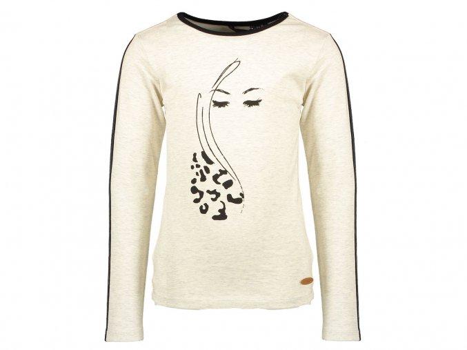 Dívčí světlé tričko Vintage očiN009 5408 014