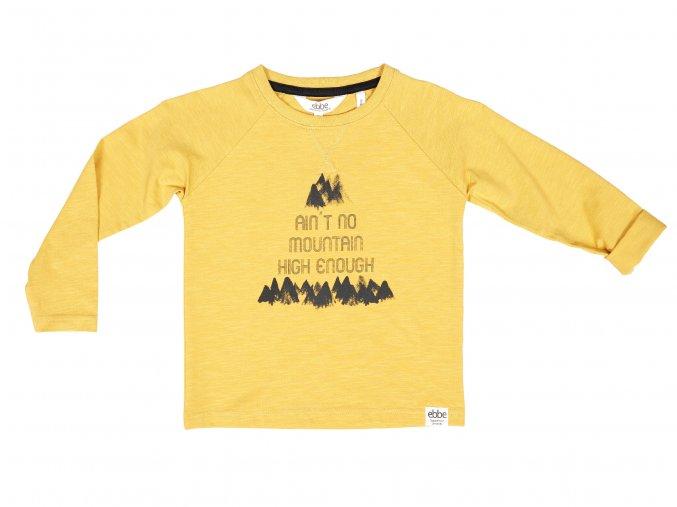Dětské tričko Hora žluté ORGANIC101837 0620 f