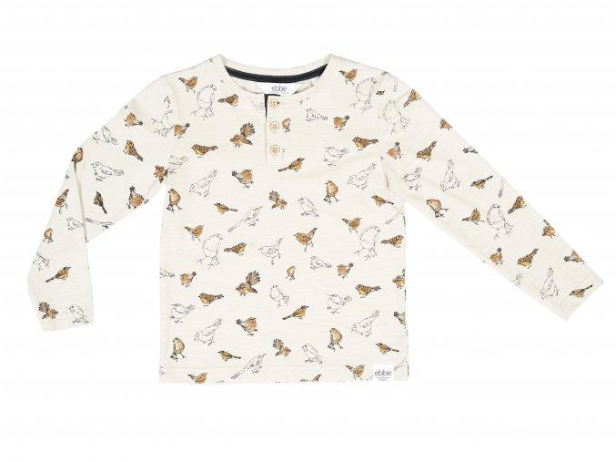 Dětské tričko Malovaní ptáčci ORGANIC101836 0607 f