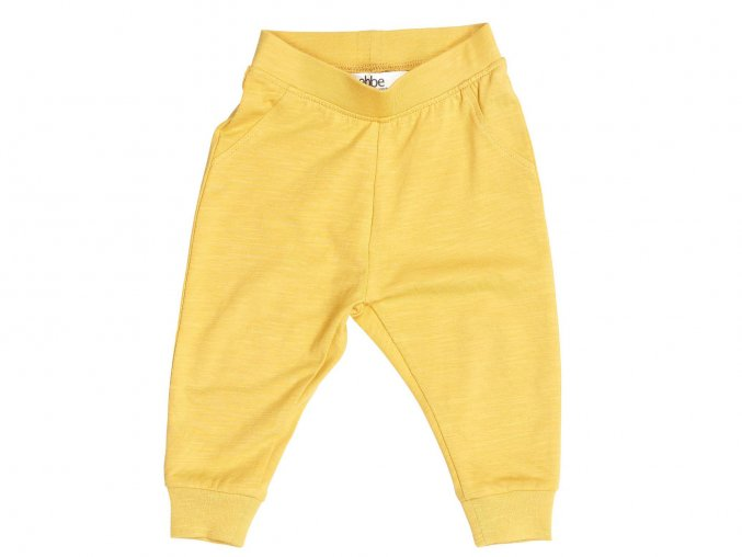 Kojenecké tepláčky žluté ORGANICKojenecké tepláčky béžové ORGANIC101833 0611 f
