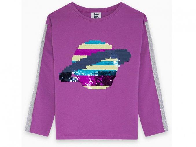 Dívčí tričko měnící flitry Saturn11290617