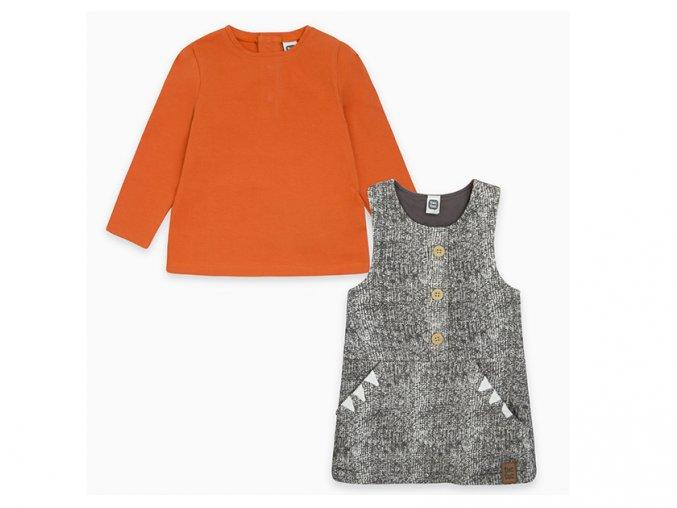 Dívčí šatičky s tričkem Tygřice11290345
