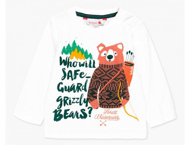 Chlapecké tričko dlouhý rukáv Medvěd Grizzly3080451111 a