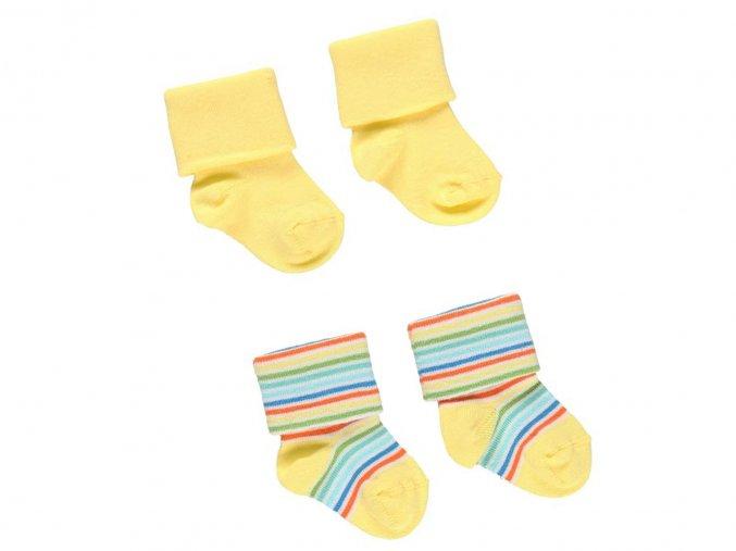 Kojenecké ponožky žluté1920021145 a