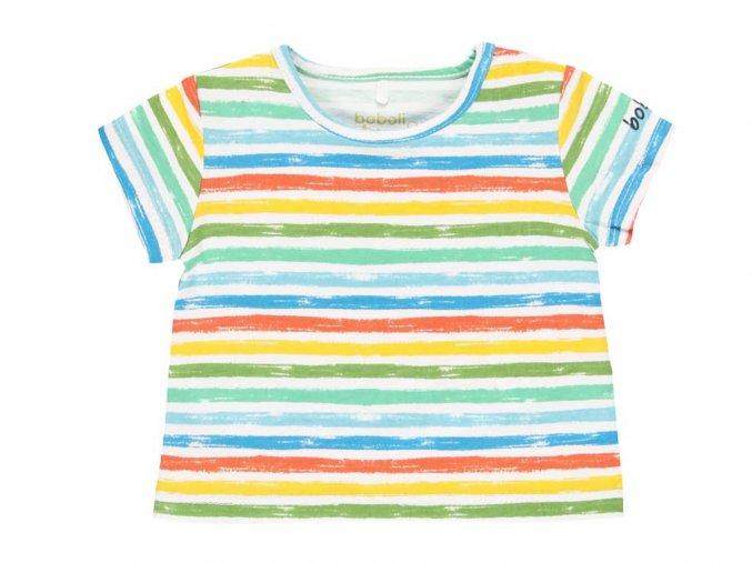 Kojenecké tričko pruhované barevné1321529492 a
