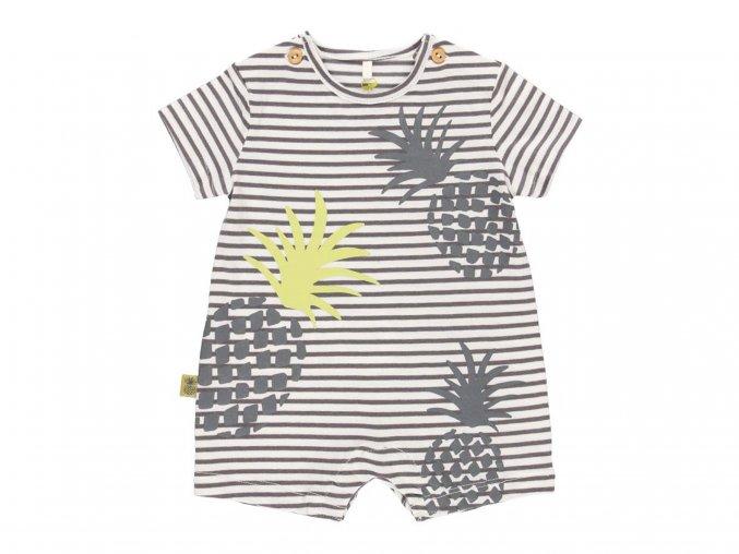 Letní kojenecká overal Organic ananas6020209498 a