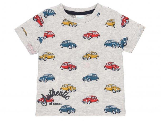 Klučičí tričko šedivé Beatle3320539546 a