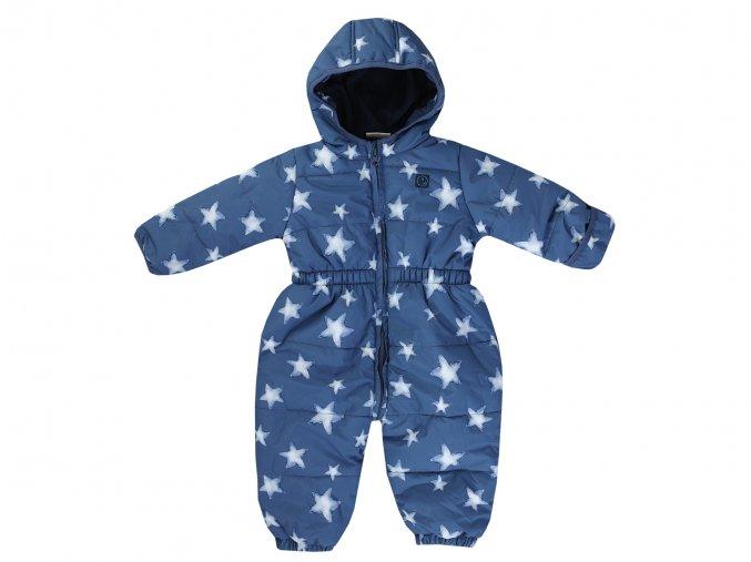 Dětská zimní kombinéza EU modrá s hvezdickama 3820620 0 3000