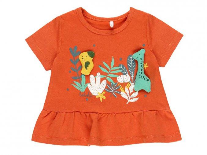 Holčičí tričko oranžové příroda1120265096 a