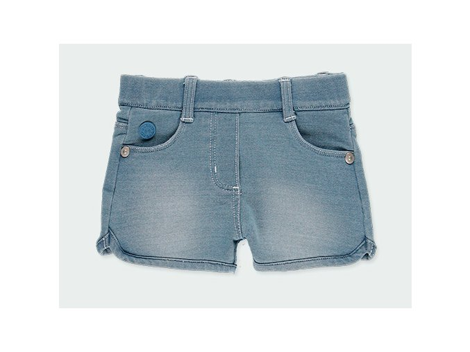 Holčičí šortky s kapsama světle modré290045BLEACH a