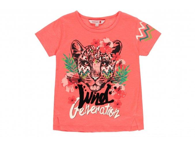 Dívčí tričko růžové Tropic4121425101 a
