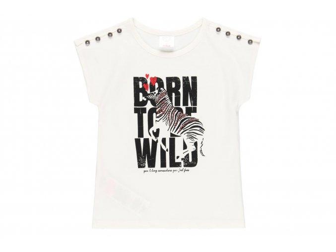 Dívčí tričko bílé Zebra4620791111 a