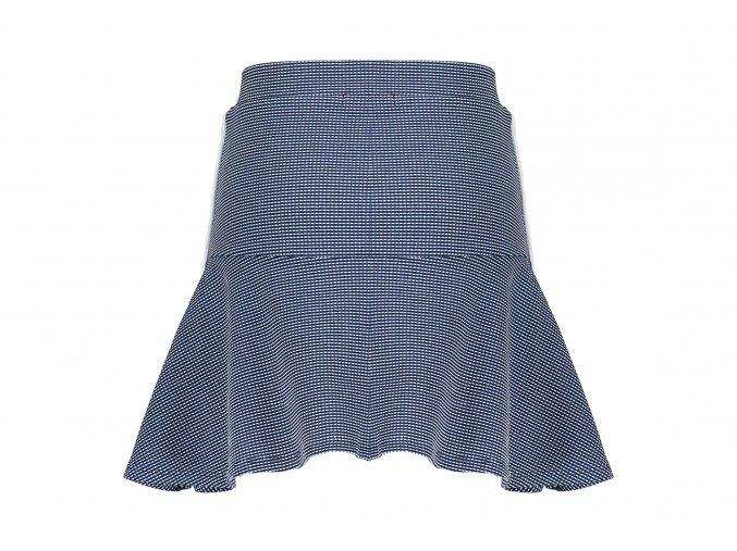 Dívčí kostkovaná sukně modrá krátka sukně holka sporty NONO AN102 5701 125 1