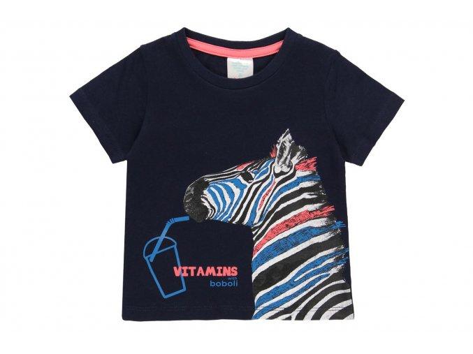 Dětské tričko modré Zebra3920482440 a