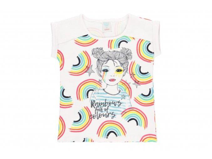 Dívčí duhované tričko4220191100 a