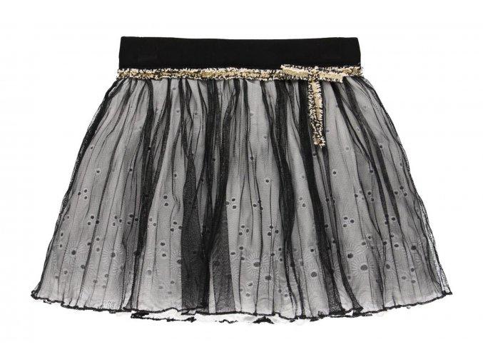 Holčičí sukně černobílá til722269890 a