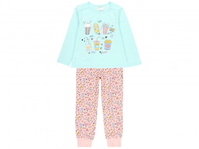 Dívčí pyžamo dlouhý rukáv9220694539 a