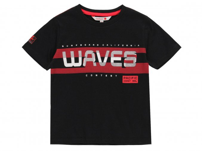 Chlapecké tričko černé Waves832025890 a