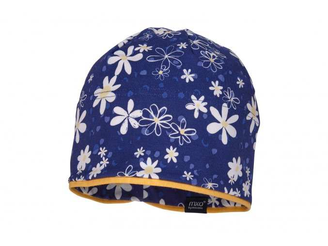 Holčičí čepice modrá Kopretina13500 081700 10