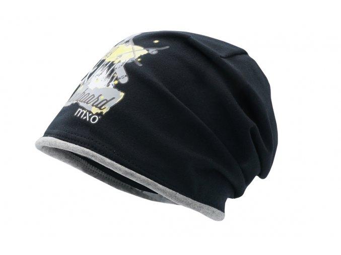 Dětská čepice černá Beani13500 086376 46
