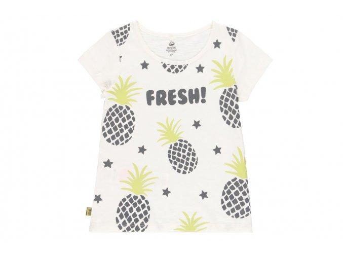 Dívčí tričko organic bílé6220551111 a
