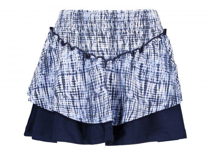 Dívčí sukně modrá batikaDívčí sukně s kanýrky modrá Holand BNOSY Y103 5771 11