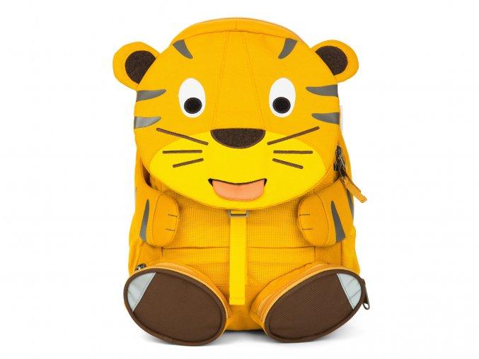 Dětský žlutý batoh TygříkLarge JPG AFZ FAL 002 005 Affenzahn Grosse Freunde Backpack Theo Tiger 01