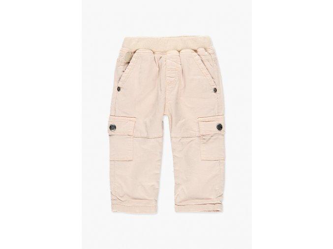 Klučičí kapsáče světlé zimní kalhoty