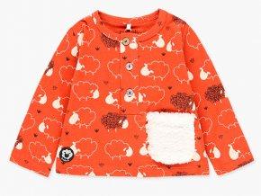 Dětské tričko s dlouhým rukávém oranžové ovečka Boboli1482055080 a