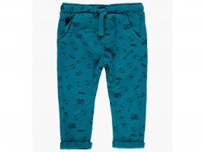 Chlapecké kalhotové tepláky s jemnou fleecovou podšívkou v krásné arktické (tyrkysově) modré barvě s kvalitním celoplošným potiskem skateboardů a nápisů SKATE!