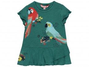 Dívčí šaty zelené2190134504 a