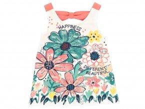 Dívčí letní šaty květy 2190911111 a