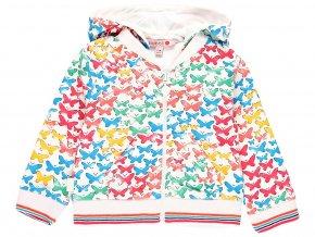 Dívčí mikina barevní Motýlci 2391059299 a