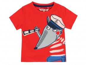 Červené tričko VLK námořník 3090683654 a