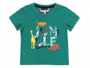 Klučičí zelené triko