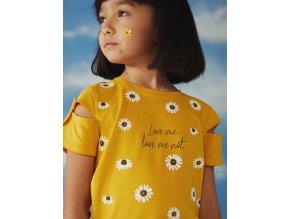 Holčičí triko žluté