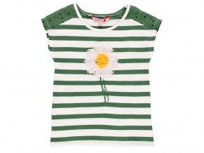 Dívčí pruhované tričko Kopretina 4090819289 a