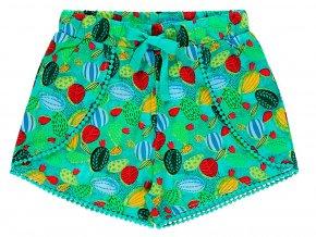 Dívčí šortky Veselý kaktus 4390399282 a