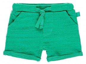Kojenecké šortky chameleon zelené