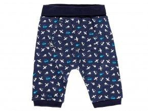 1191689250 a Kojenecké oboustranné kalhoty modré