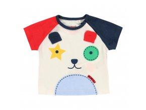 Dětské tričko s pejskem pro chlapečka barevné veselé Boboli a