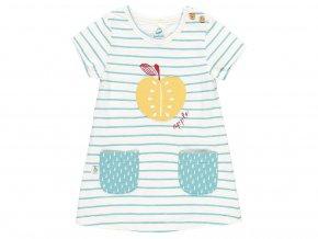 6090619345 a Kojenecký letní komplet jablíčko Organic letní šatičky pro holčičku bio Boboli