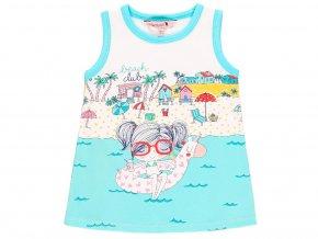 8090071100 a Dívčí letní šaty Prázdniny