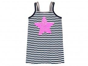8294149271 a Dívčí letní šaty Hvězda