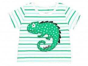1492179263 a Kojenecké pruhované tričko Chameleon