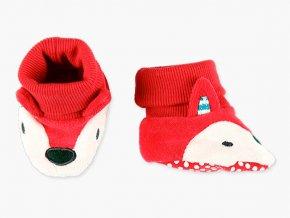 capáčky pro miminko roztomilé měkké botičky lištička Boboli1282141111 a