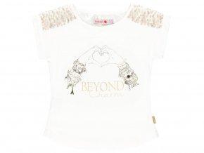 7296151111 a Dívčí tričko Beyond Charm bílé