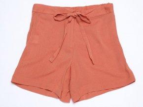 Dívčí šortky krepové Oranžové