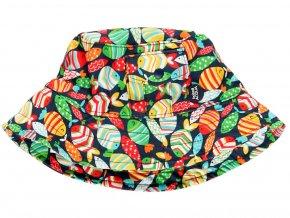 dětský klobouček do vody Rybičky barevné