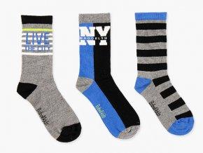 Dětské klučičí ponožky tři páry